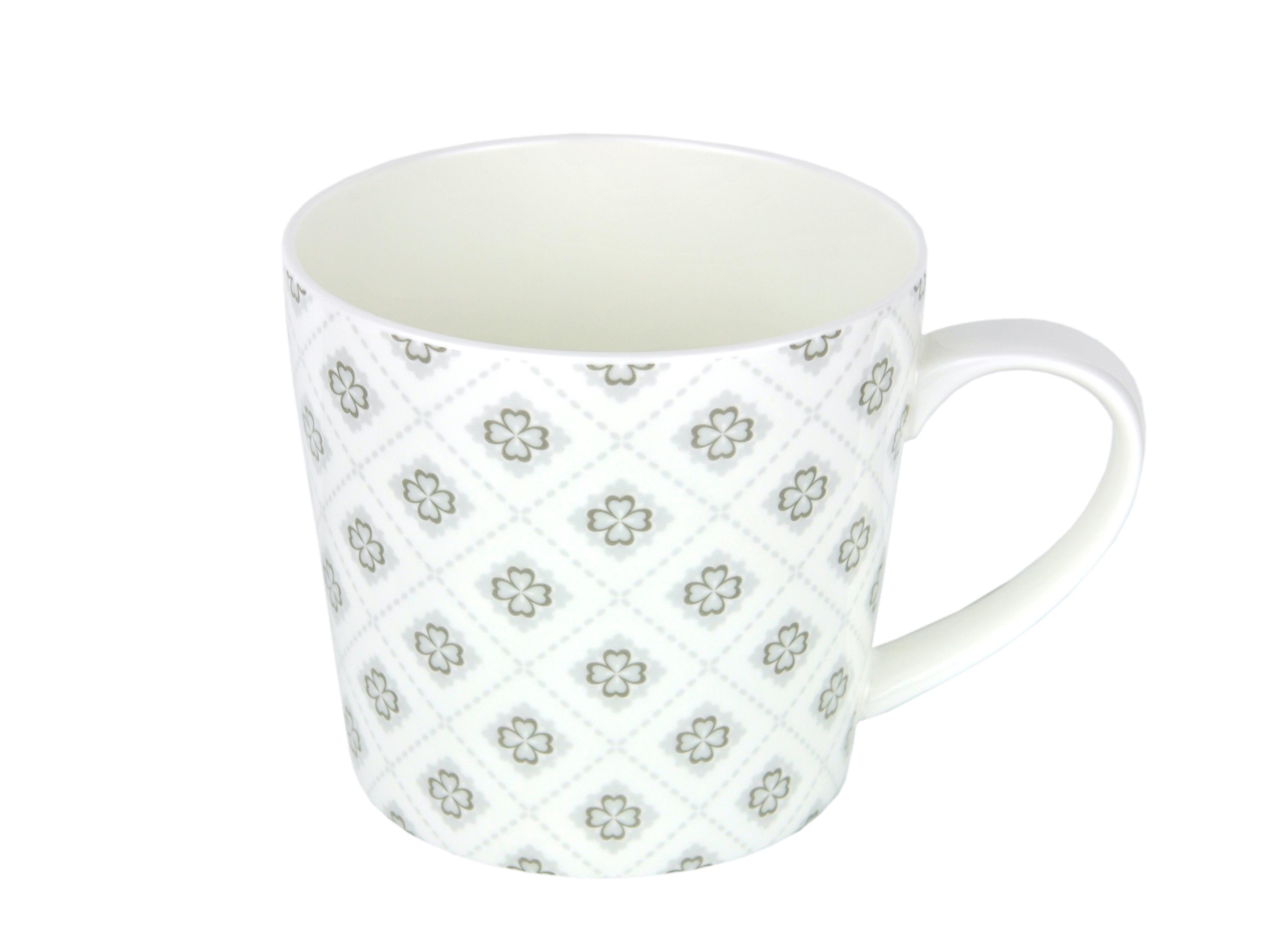 becher diamantporzellan gl cksblatt 4162 incl teeprobe porzellan tassen und becher. Black Bedroom Furniture Sets. Home Design Ideas