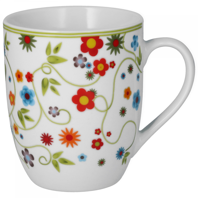 van well 6er set kaffeebecher serie vario porzellan farbe w hlbar porzellan tassen und becher. Black Bedroom Furniture Sets. Home Design Ideas