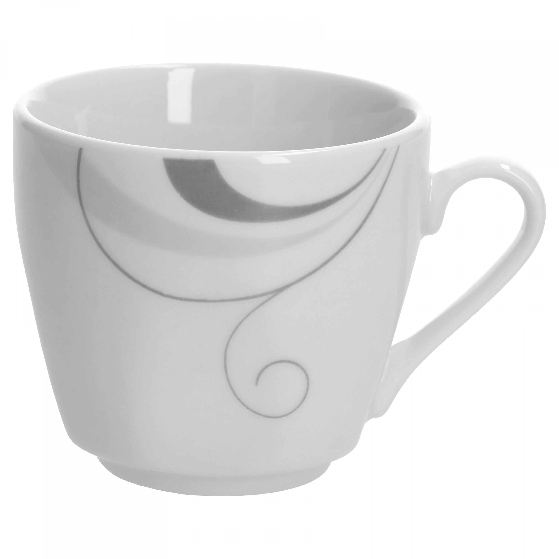 espressotasse mit espressountertasse portofino porzellan tassen und becher. Black Bedroom Furniture Sets. Home Design Ideas
