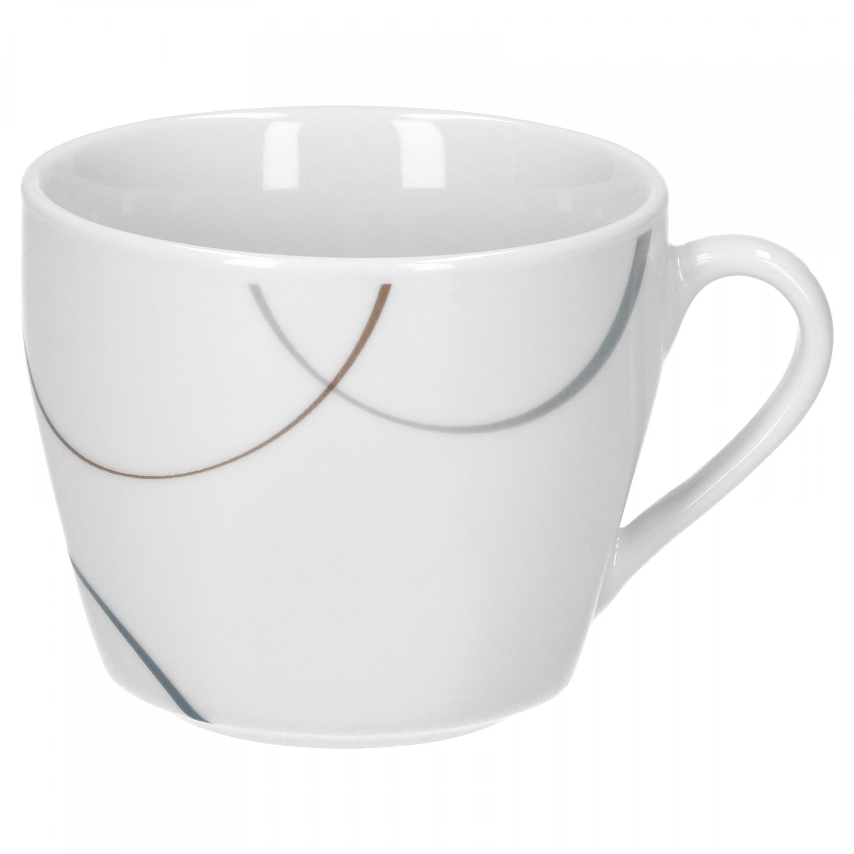 kaffeetasse mit kaffeeuntertasse salerno porzellan tassen und becher. Black Bedroom Furniture Sets. Home Design Ideas