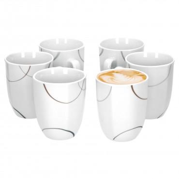 6er Set Kaffeebecher Salerno 33cl – Bild 1