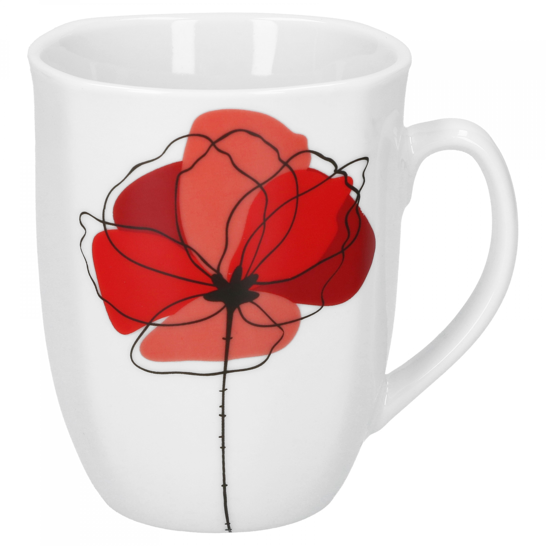 kaffeebecher monika 33cl porzellan tassen und becher. Black Bedroom Furniture Sets. Home Design Ideas