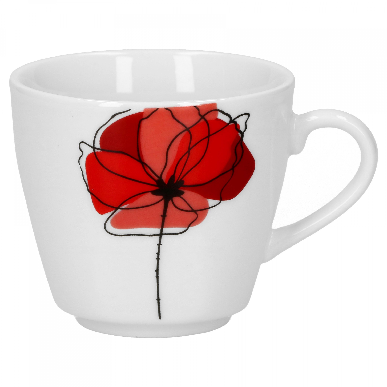 espressotasse mit espressountertasse monika porzellan tassen und becher. Black Bedroom Furniture Sets. Home Design Ideas