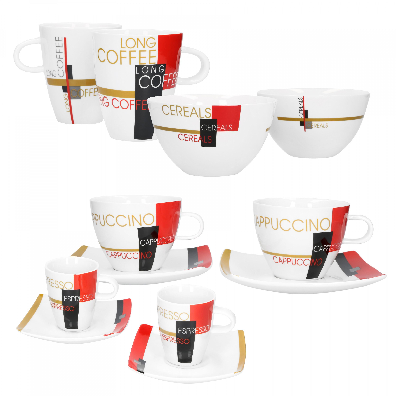 Modernes Geschirr Set well porzellan 2er set geschirr serie cafe modernes pop