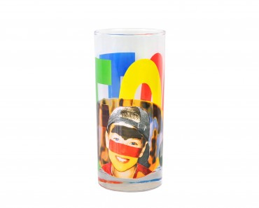 60er Set Wasserglas Face Tatoo – Bild 2