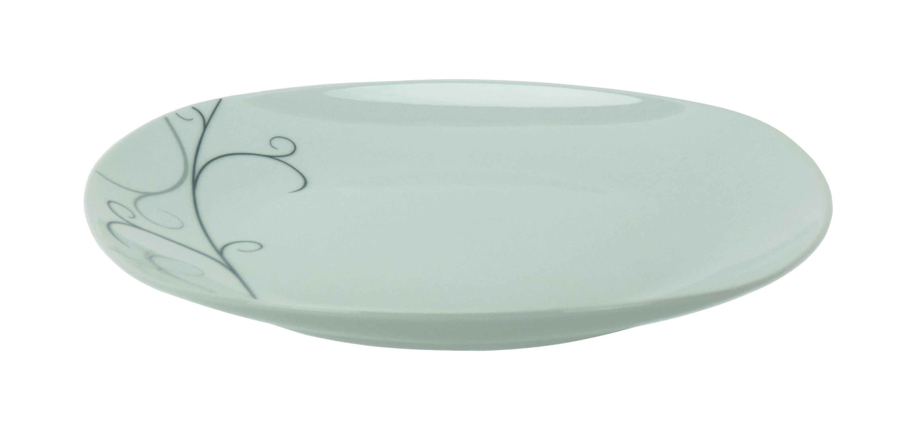 tafelservice vita 12 tlg wei mit farbigem dekor f r 6 personen porzellan tafelservice mit dekor. Black Bedroom Furniture Sets. Home Design Ideas