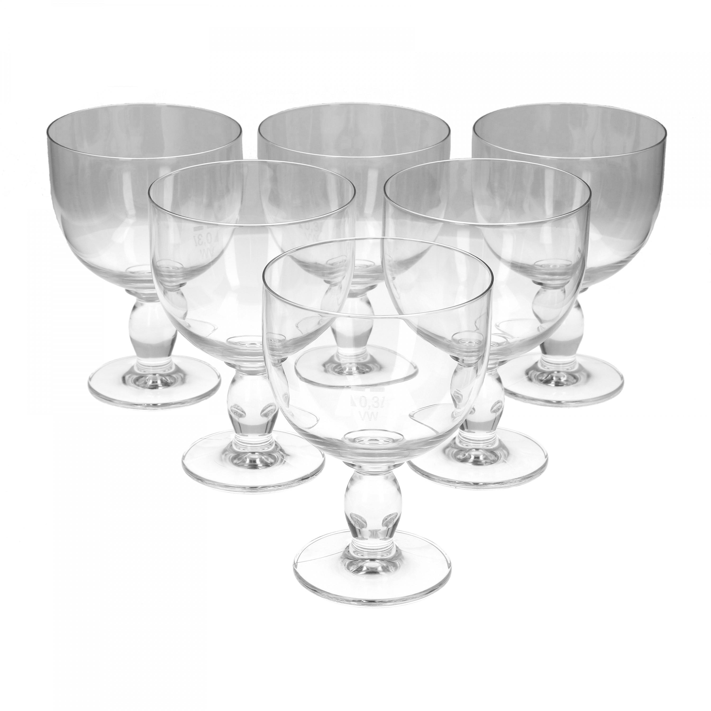Berliner weisse glas 03 liter geeicht 6er set glas bierglaser for Wei es glas