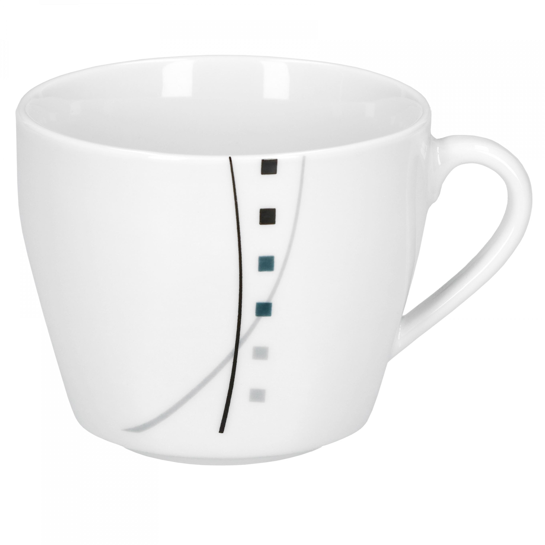 kaffeeservice iowa 18tlg wei dekor 6 personen porzellan geschirr teller tassen 4250857224852. Black Bedroom Furniture Sets. Home Design Ideas