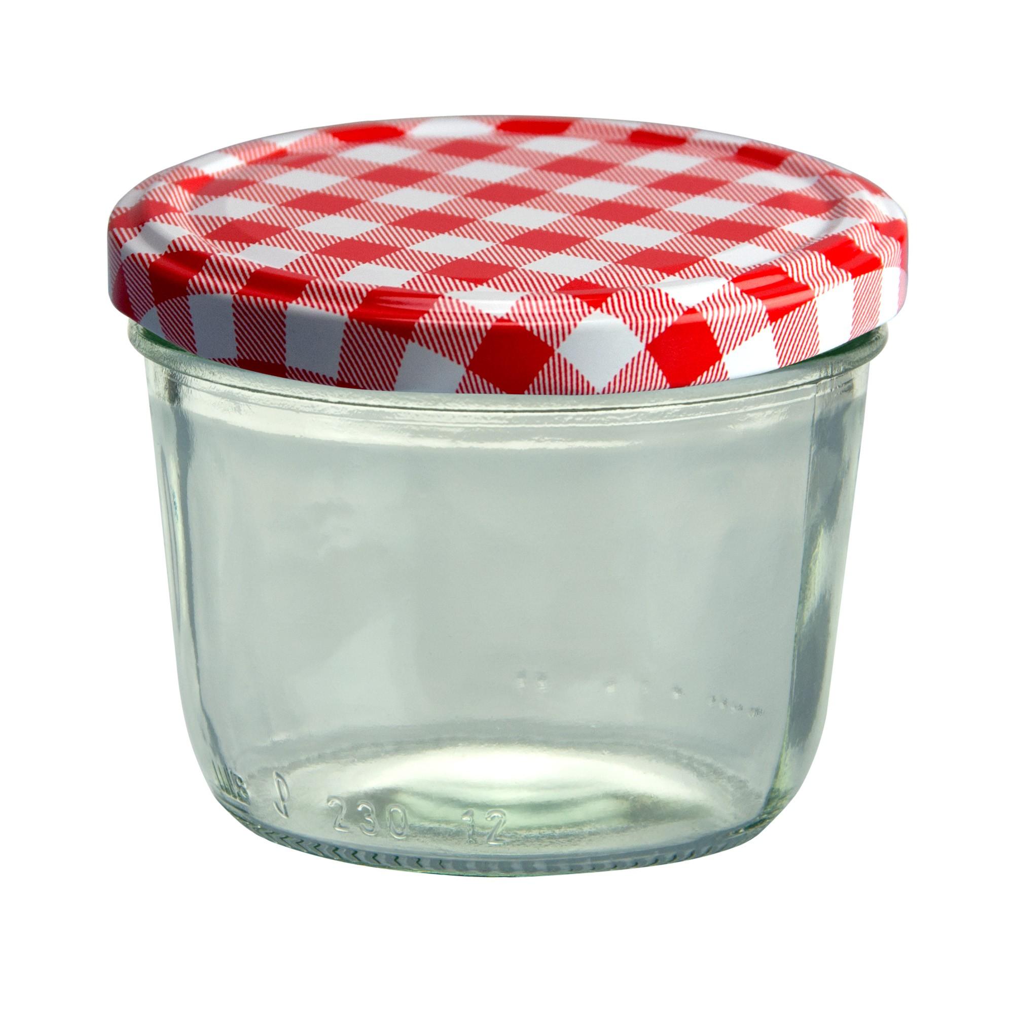 75er set sturzglas 230 ml marmeladenglas einmachglas. Black Bedroom Furniture Sets. Home Design Ideas