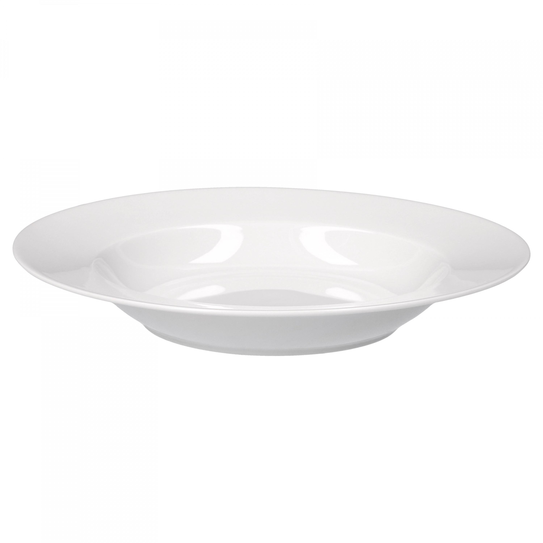 tafelservice trend 24tlg f r 12 personen 12 speiseteller 27cm 12 suppenteller 23cm porzellan. Black Bedroom Furniture Sets. Home Design Ideas