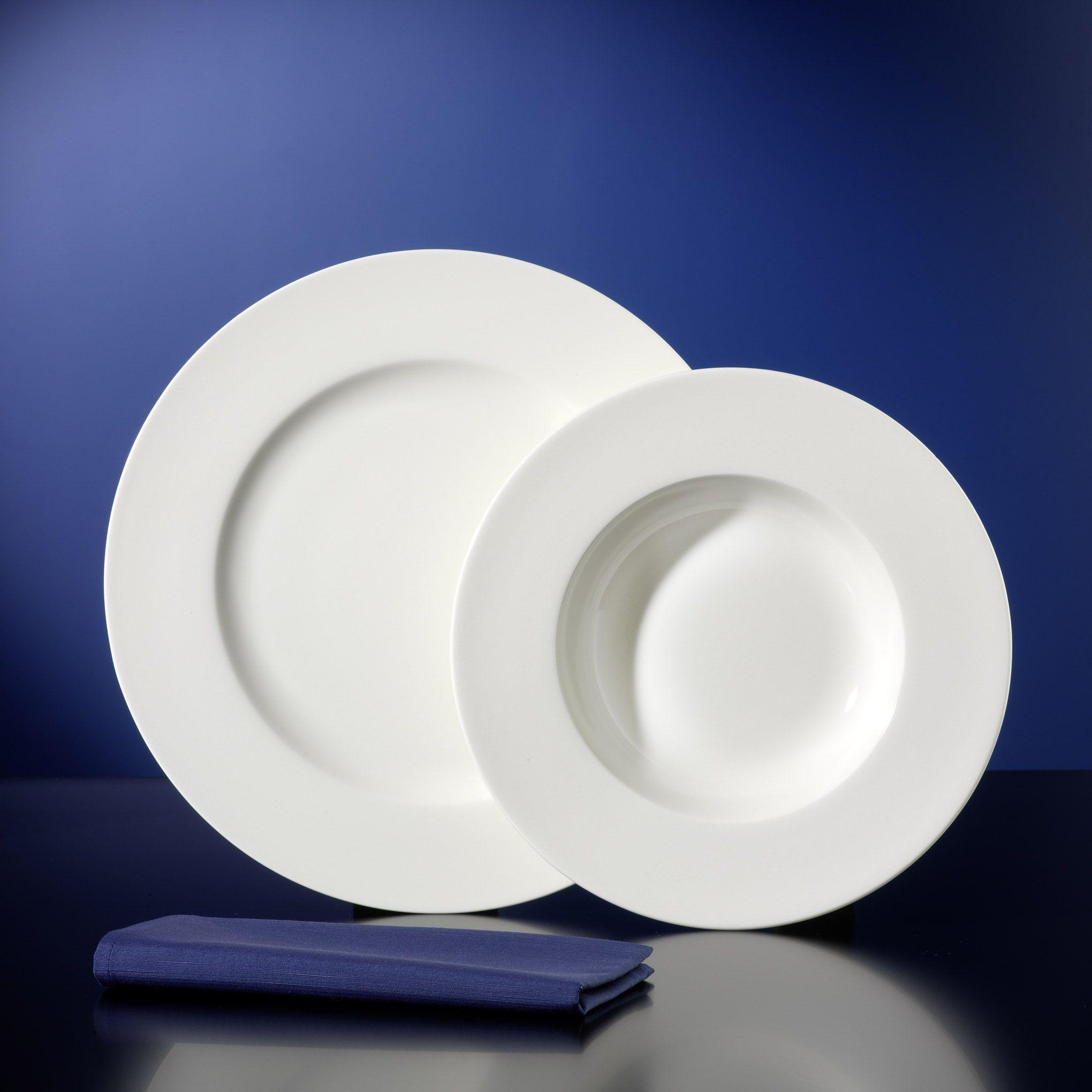 tafelservice amelia 24tlg f r 12 personen porzellan tafelservice ohne dekor. Black Bedroom Furniture Sets. Home Design Ideas