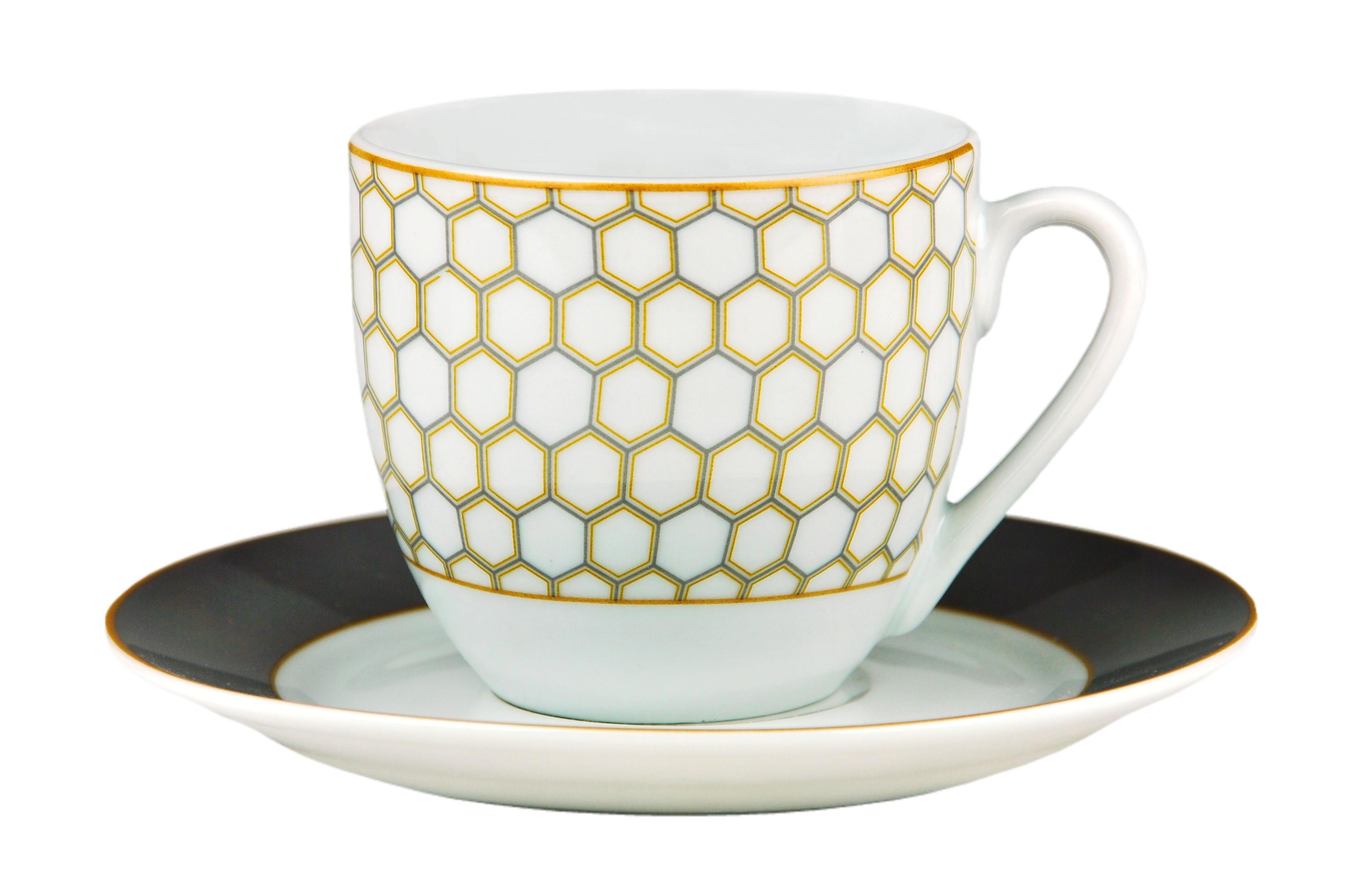 kombiservice honey 60tlg wei mit farbigem dekor f r 12 personen porzellan kombiservice mit dekor. Black Bedroom Furniture Sets. Home Design Ideas