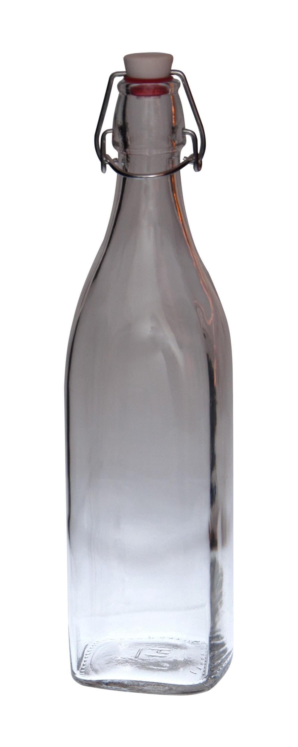 2er set glasflaschen serie swing mit b gelverschluss 1 00 liter glas flaschen. Black Bedroom Furniture Sets. Home Design Ideas