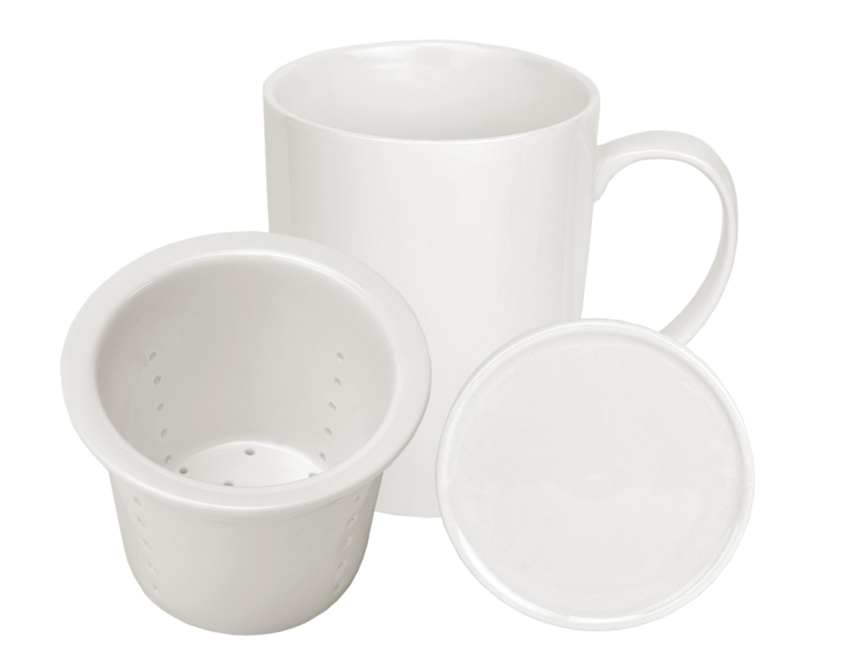 Teetasse Mit Sieb becher tasse mit sieb und deckel corte la porcellana