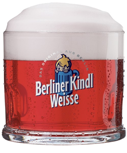 glas original berliner kindl weisse klauenglas 0 3l bierglas ebay. Black Bedroom Furniture Sets. Home Design Ideas