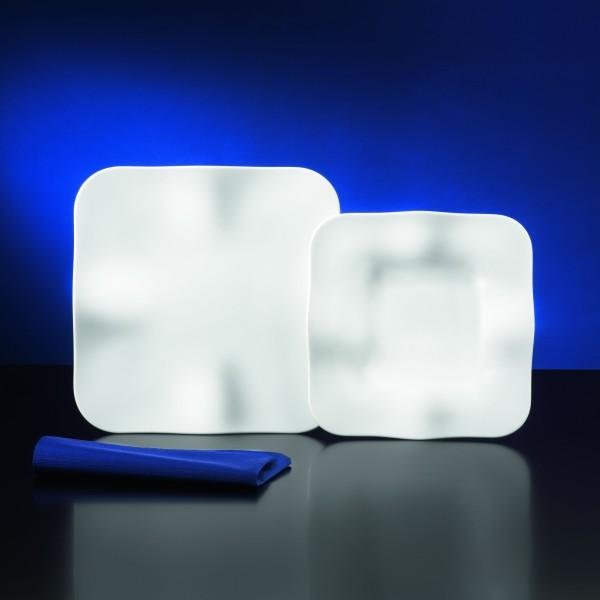 tafelservice astoria 12 teilig porzellan f r 6 personen wei eckig geschirr ebay. Black Bedroom Furniture Sets. Home Design Ideas