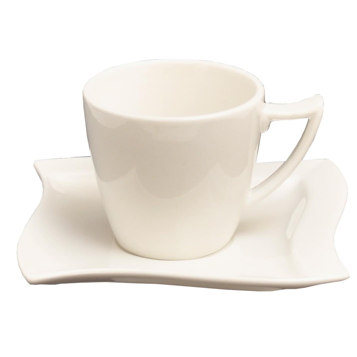 kaffeeservice emotion 36tlg f r 12 personen porzellan kaffeeservice ohne dekor. Black Bedroom Furniture Sets. Home Design Ideas